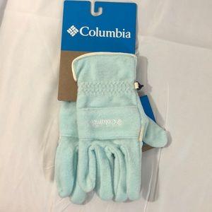Columbia, Women's XL light blue winter gloves